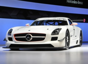 Трековый Mercedes-Benz SLS AMG GT3, small