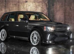Ателье Mansory Range Rover Sport, small