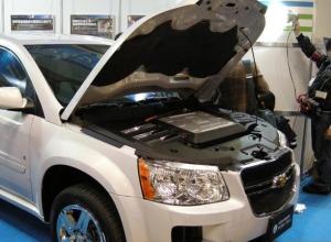 Chevrolet Equinox с водородным мотором., small