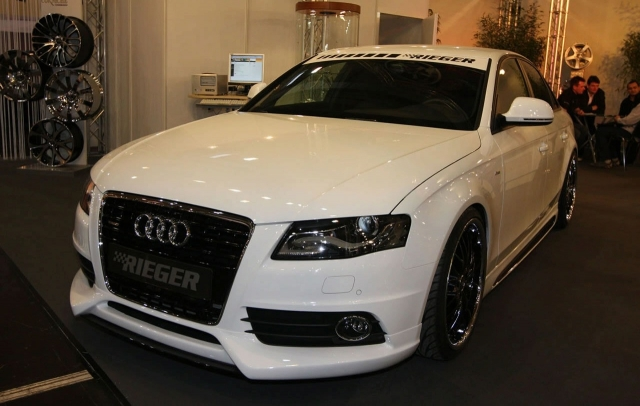 Audi A4 30-tdi by Rieger tuning
