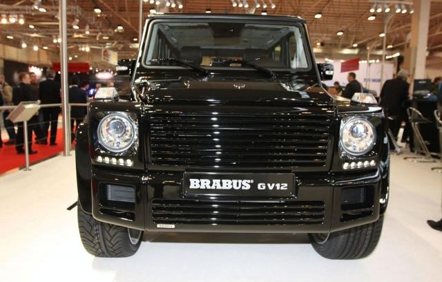 Brabus GV 12 based on Mercedes g class