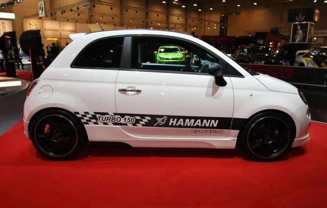 Hamann Sportiv based on Fiat 500