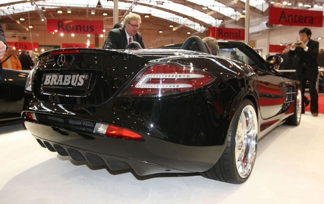 Mercedes McLaren SLR Roadster by Brabus