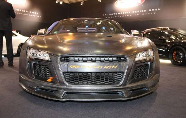 PPI Razor GTR based on Audi R8