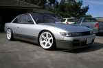 злющая Nissan Silvia в кузове S13, small