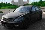 Mercedes S-class черный, матовый , small