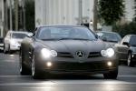 Матовый Mercedes SLR, small