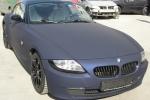 Синий, матовый BMW Z8, small