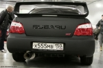Бело-черная матовая Subaru Impeza WRX STI, small