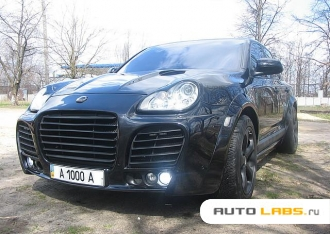 Porsche Cayenne Turbo MAGNUM by TECHART